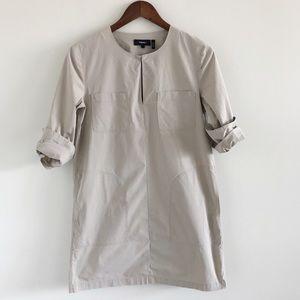 Theory Jullitah Light Poplin Dress With Pockets 2